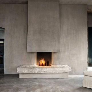 Beautiful Modern Fireplaces For Winter Design Ideas02