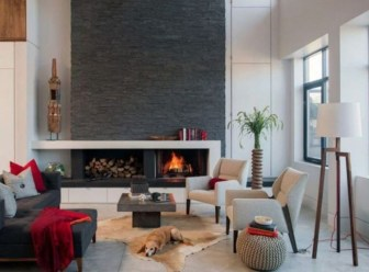 Beautiful Modern Fireplaces For Winter Design Ideas04