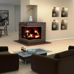 Beautiful Modern Fireplaces For Winter Design Ideas14