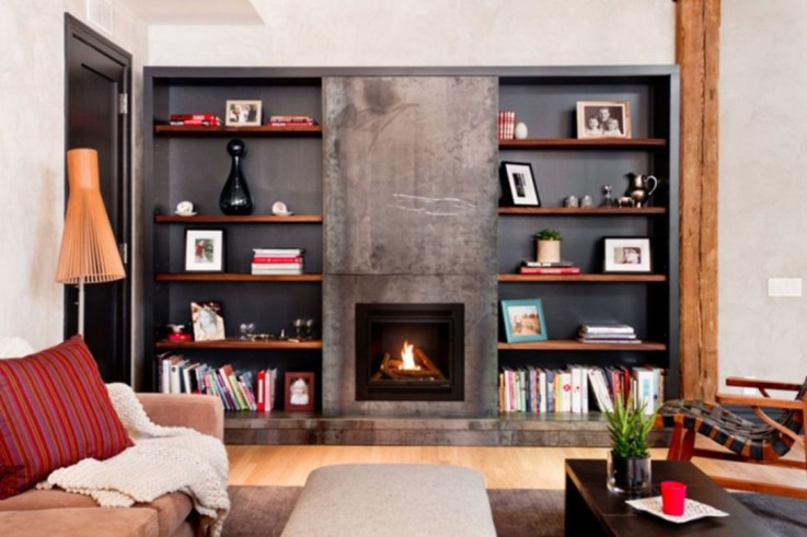 Beautiful Modern Fireplaces For Winter Design Ideas19
