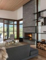 Beautiful Modern Fireplaces For Winter Design Ideas25