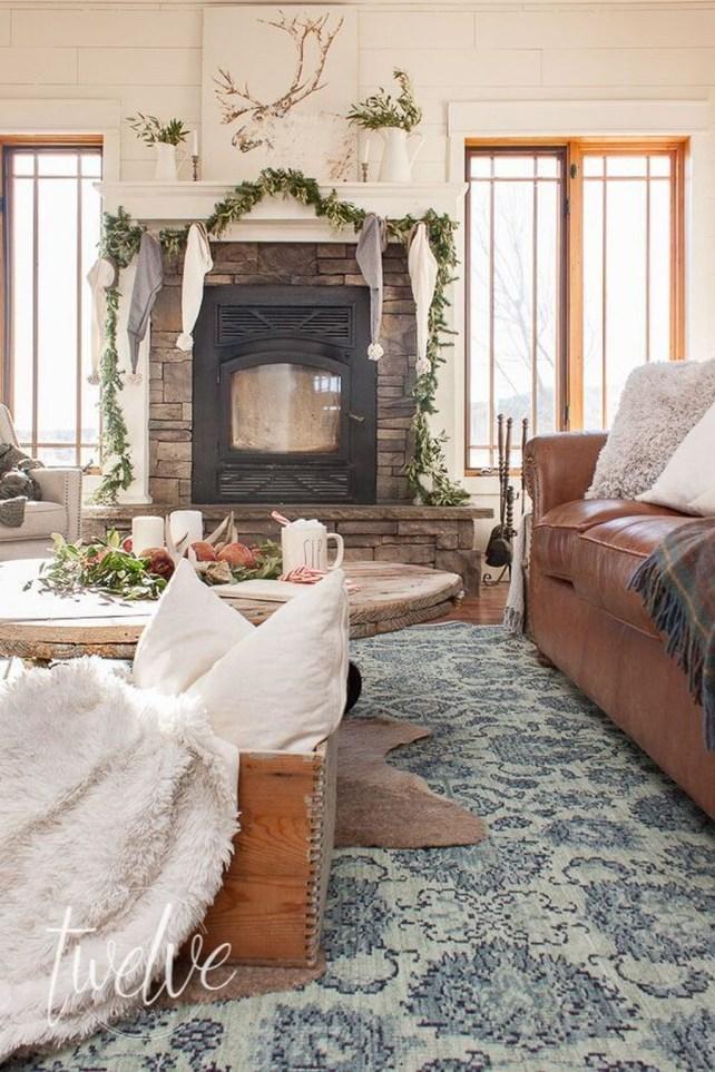 Beautiful Modern Fireplaces For Winter Design Ideas26