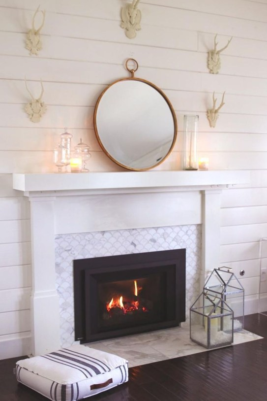 Beautiful Modern Fireplaces For Winter Design Ideas30