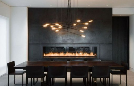 Beautiful Modern Fireplaces For Winter Design Ideas31