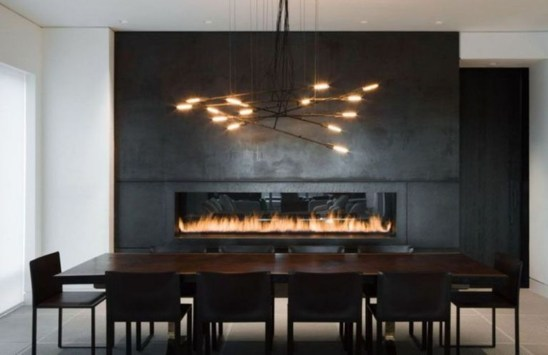 Beautiful Modern Fireplaces For Winter Design Ideas31