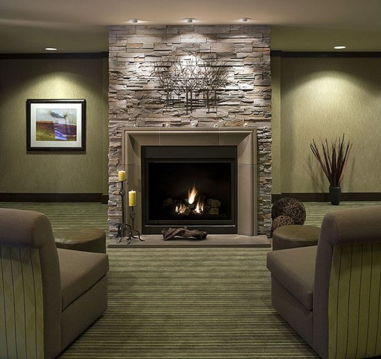 Beautiful Modern Fireplaces For Winter Design Ideas32
