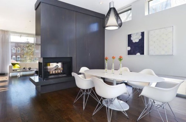 Beautiful Modern Fireplaces For Winter Design Ideas35