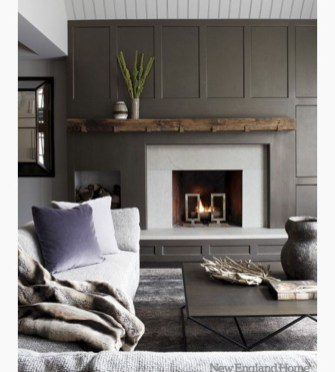 Beautiful Modern Fireplaces For Winter Design Ideas37