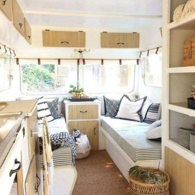 Best Wonderful Rv Camping Living Decor Remodel15