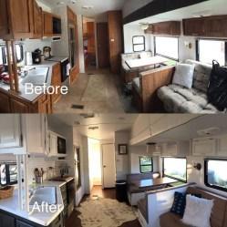 Best Wonderful Rv Camping Living Decor Remodel17