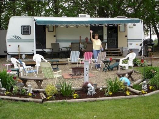Best Wonderful Rv Camping Living Decor Remodel35