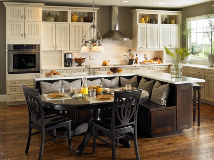 Fabulous Kitchen Island Decorating Ideas To Become A Comfortable Cooking Place For You23