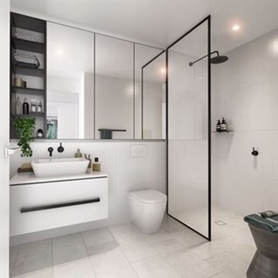 How To Decorate Your Small Bathroom Become More Comfortable And Beautiful07