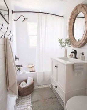 How To Decorate Your Small Bathroom Become More Comfortable And Beautiful24