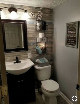 How To Decorate Your Small Bathroom Become More Comfortable And Beautiful32