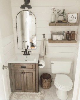How To Decorate Your Small Bathroom Become More Comfortable And Beautiful35