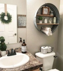 How To Decorate Your Small Bathroom Become More Comfortable And Beautiful39