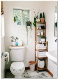 How To Decorate Your Small Bathroom Become More Comfortable And Beautiful40
