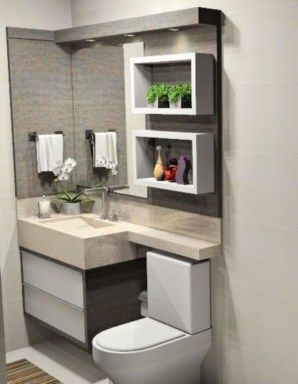 How To Decorate Your Small Bathroom Become More Comfortable And Beautiful44