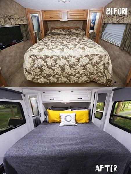 Top Rv Camper Van Living Remodel38