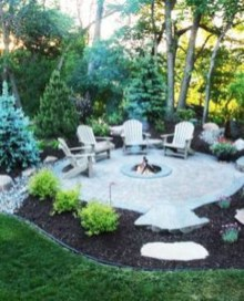 Amazing Backyard Decoration Ideas For Comfortable Your Outdoor13