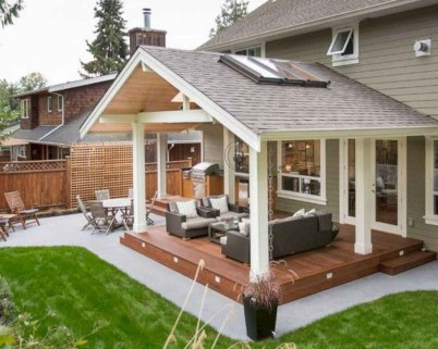 Amazing Backyard Decoration Ideas For Comfortable Your Outdoor27
