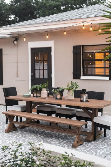 Amazing Backyard Decoration Ideas For Comfortable Your Outdoor31