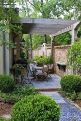 Amazing Backyard Decoration Ideas For Comfortable Your Outdoor35