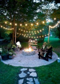 Amazing Backyard Decoration Ideas For Comfortable Your Outdoor36