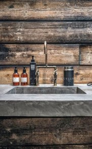 Amazing Industrial Bathroom Decorating Ideas For Your Inspiration14