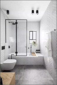 Amazing Industrial Bathroom Decorating Ideas For Your Inspiration19