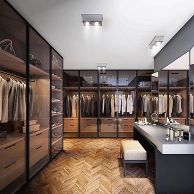 Awesome Closet Room Design Ideas For Your Bedroom01