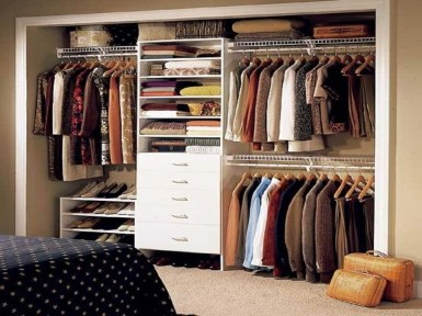 Awesome Closet Room Design Ideas For Your Bedroom18