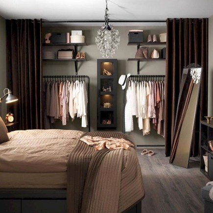Awesome Closet Room Design Ideas For Your Bedroom37