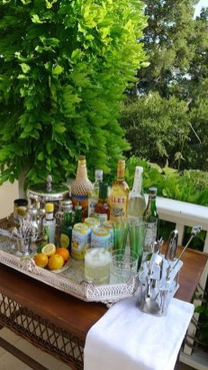 Awesome Outdoor Mini Bar Design Ideas You Must Have For Small Party17