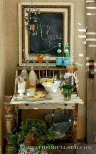 Awesome Outdoor Mini Bar Design Ideas You Must Have For Small Party41