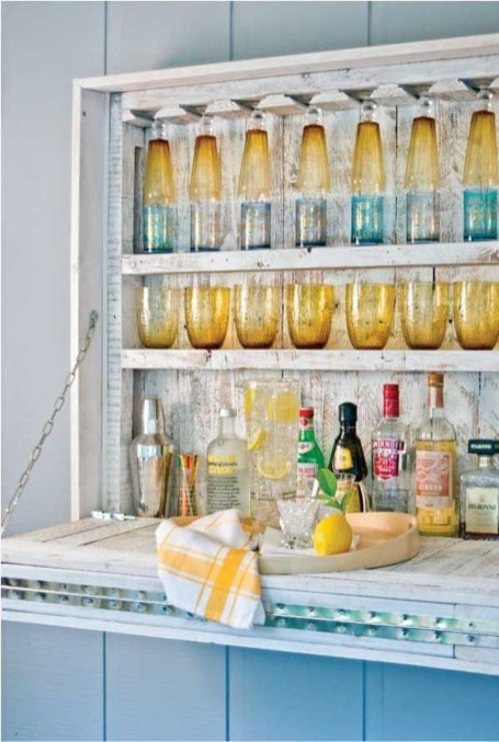 Awesome Outdoor Mini Bar Design Ideas You Must Have For Small Party45