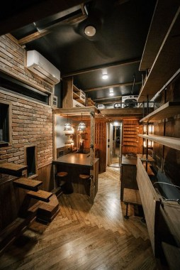 Awesome Tiny House Design Ideas For Your Family45