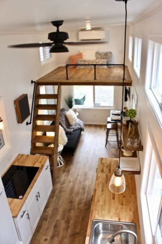 Awesome Tiny House Design Ideas For Your Family48