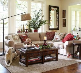 Best Christmas Living Room Decoration Ideas For Your Home05