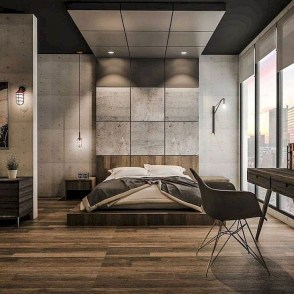 Chic And Warm Minimalist Bedroom Interior Ideas For Feel Comfort11