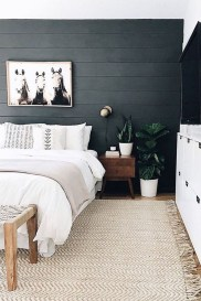 Chic And Warm Minimalist Bedroom Interior Ideas For Feel Comfort12