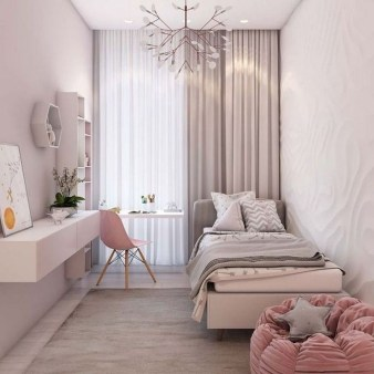 Chic And Warm Minimalist Bedroom Interior Ideas For Feel Comfort33
