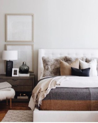 Cozy Bedroom Design Ideas To Make Your Sleep More Comfortable34