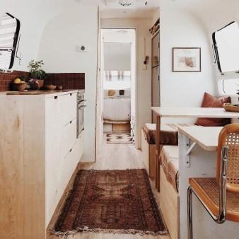 Elegant Airstream Decorating Ideas For Comfortable Holidays Trip24