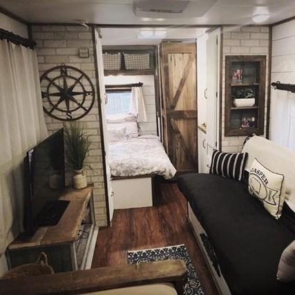 Elegant Airstream Decorating Ideas For Comfortable Holidays Trip35