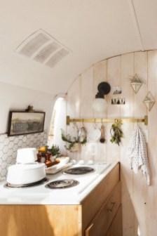 Elegant Airstream Decorating Ideas For Comfortable Holidays Trip38