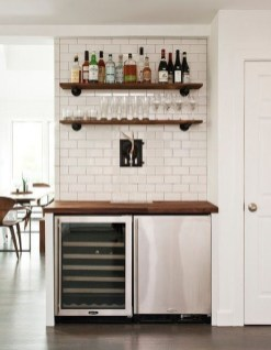 Gorgeous Minibar Designs Ideas For Your Kitchen06