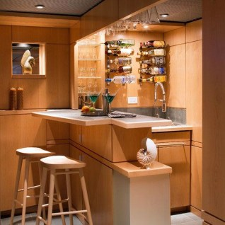 Gorgeous Minibar Designs Ideas For Your Kitchen08