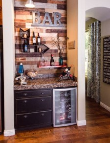 Gorgeous Minibar Designs Ideas For Your Kitchen14